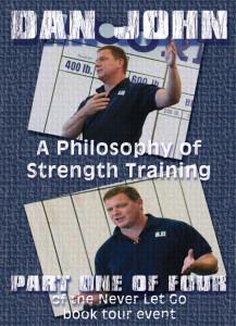 Dan John Philosophy of Strength DVD