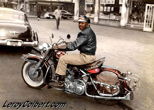Leroy Colbert Motorcycle