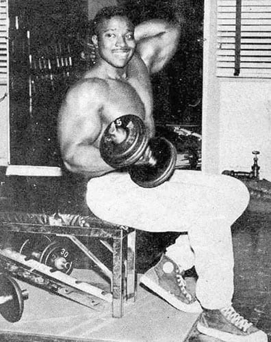 Leroy Colbert Seated Curls