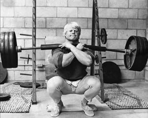 Dave Draper Front Squat