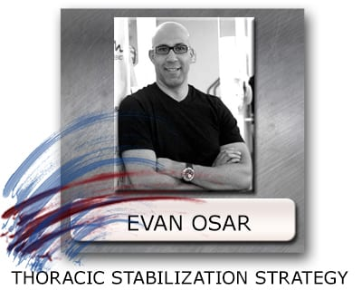 Evan Osar stable thoracic spine