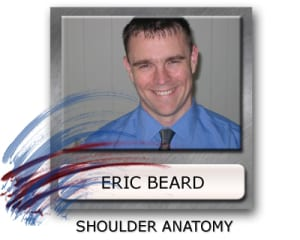 shoulder pain, shoulder anatomy Eric Beard