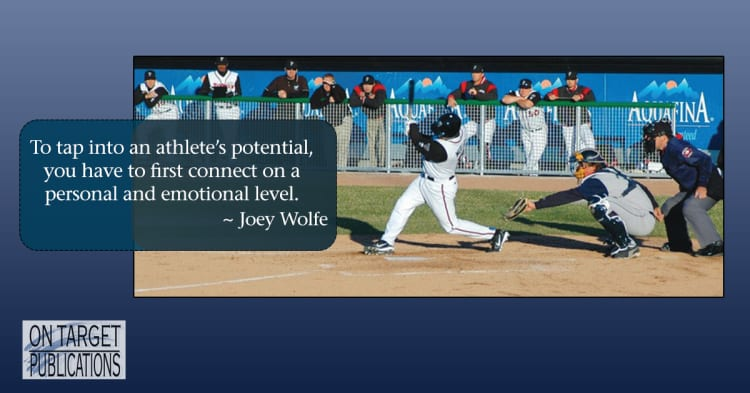 coaching athletes with joey wolfe