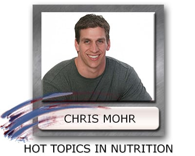 Chris Mohr nutrition counseling