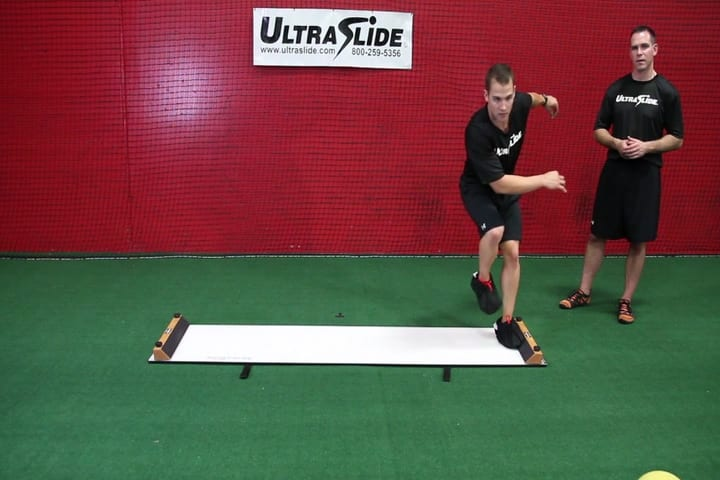 Slideboard training for reconditioning