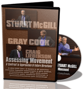 stuart mcgill gray cook video, stuart mcgill functional movement screen review, stuart mcgill craig liebenson video