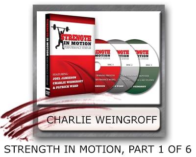 Charlie Weingroff Weight Gain Program - Weight Gain Strength Program - Charlie Weingroff Muscle Program