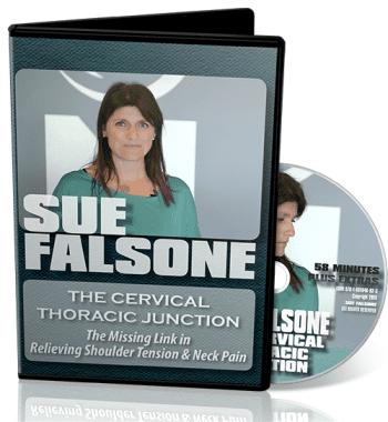 sue falsone cervical spine, sue falsone thoracic spine, cervical thoracic junction video