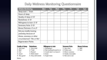 Greg Dea Wellness Monitoring