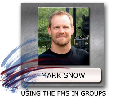 functional movement screen, using the fms in groups, exercise programming for groups
