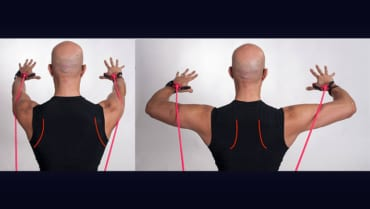 Evan Osar drill for shoulder stabilization