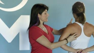 shoulder tightness due to thoracic tightness Sue Falsone