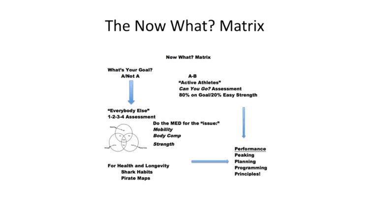 Dan John Now What Matrix