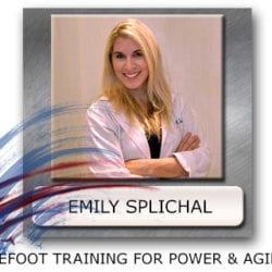Emily Splichal Barefoot Training - Barefoot Training For Power - Barefoot Agility